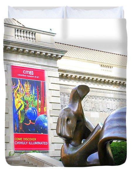 Columbus Museum Of Art Duvet Cover