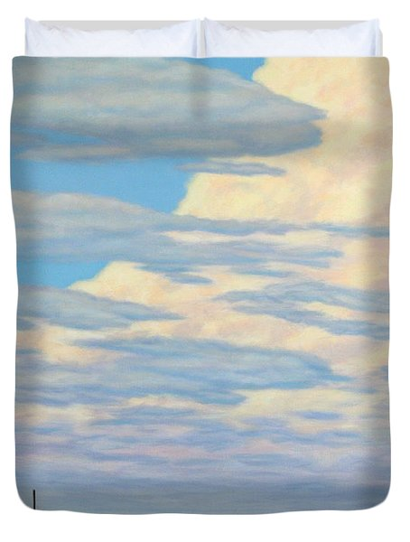 Come In Duvet Cover by James W Johnson