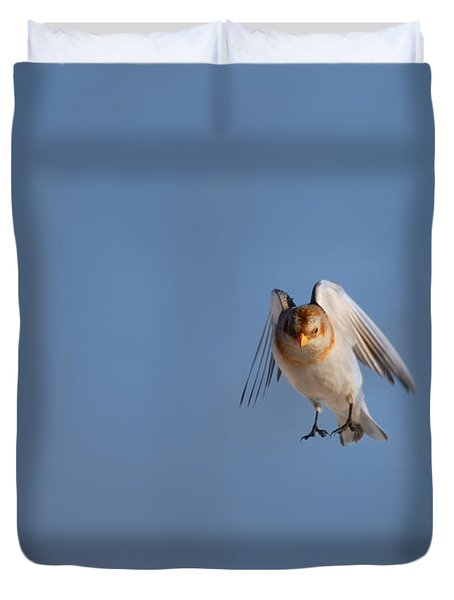 Coming In For A Landing Duvet Cover