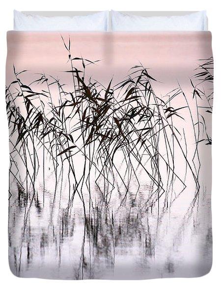 Common Reeds Duvet Cover