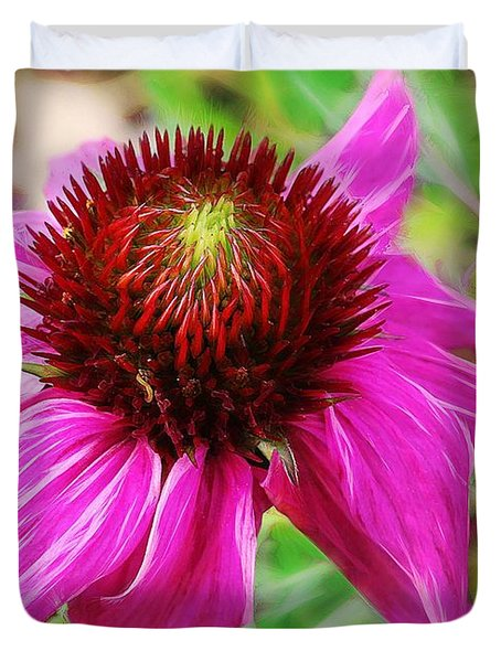 Coneflower Duvet Cover by Judi Bagwell