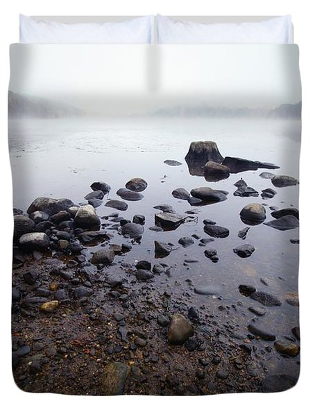 Connecticut Rocks Duvet Cover by Karol Livote