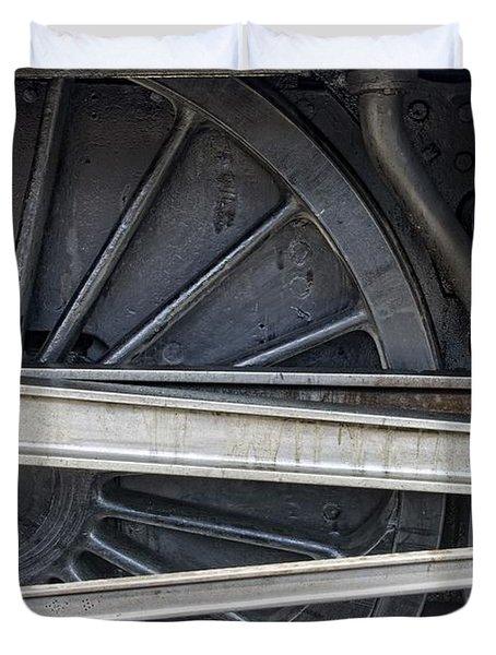 Connecting Rods Of Sir Nigel Gresley Duvet Cover by John Short