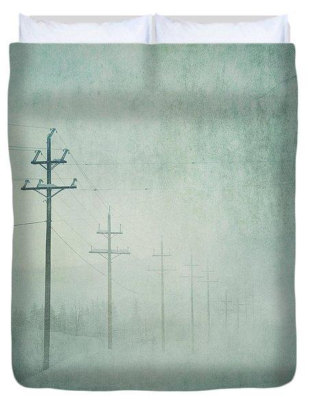 Connenction Duvet Cover by Priska Wettstein