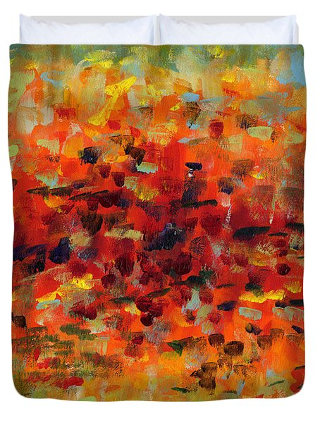 Contemporary Art Nineteen Duvet Cover
