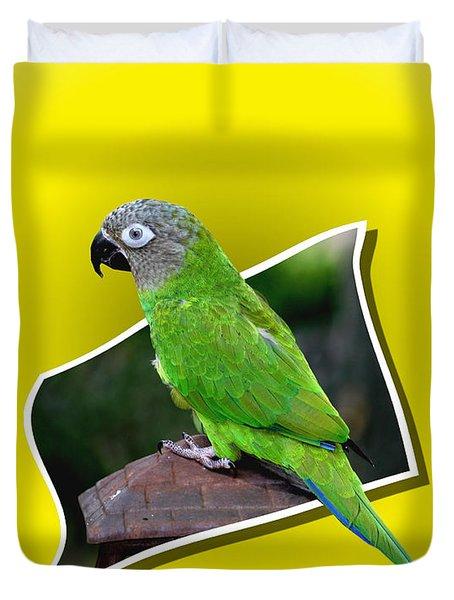 Conure Parrot Pop Out Duvet Cover