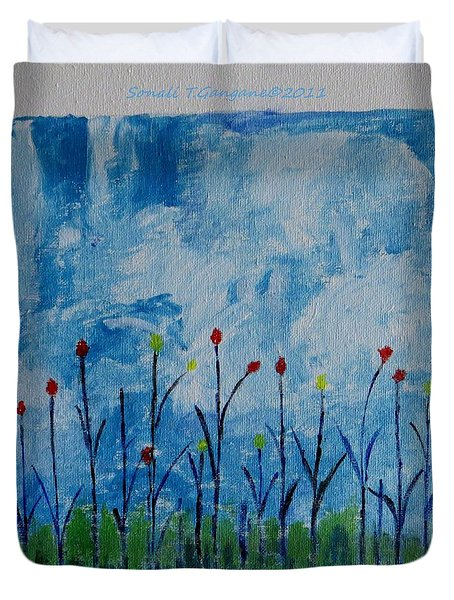 Conviction Duvet Cover by Sonali Gangane