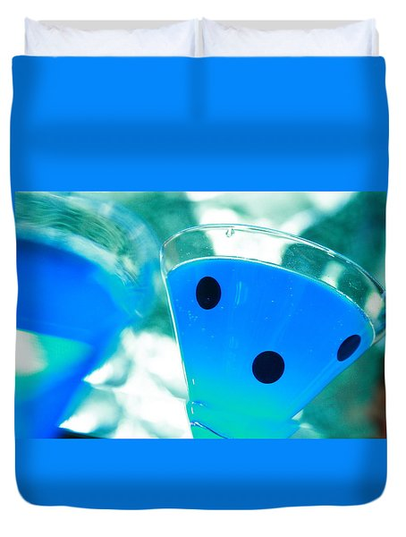 Cool Blue  Duvet Cover by Toni Hopper