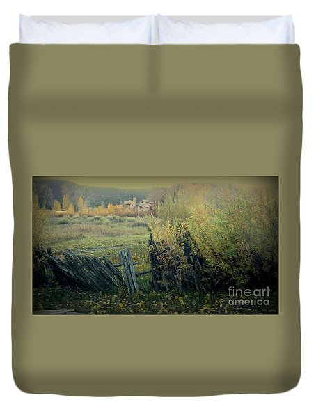 Colorado Colors Duvet Cover