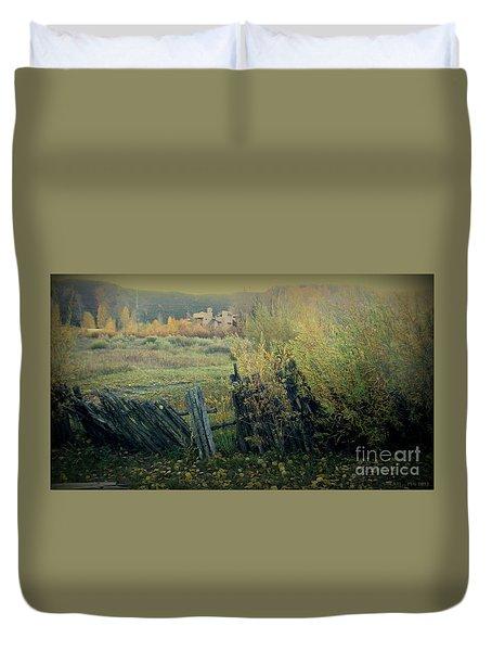 Colorado Colors - Ridgway Duvet Cover