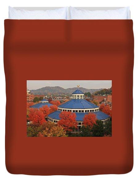 Coolidge Park Carousel Duvet Cover