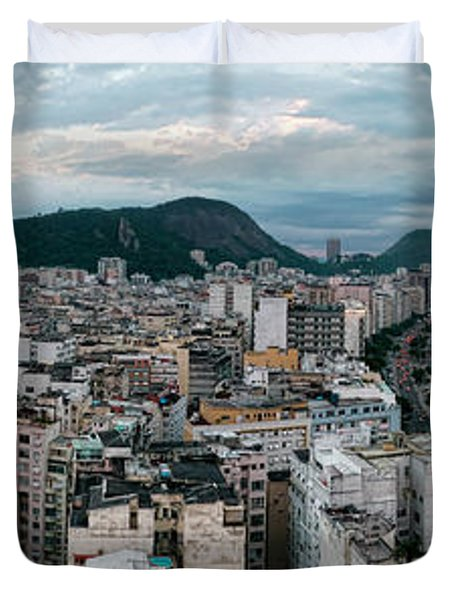Copacabana Sunset Duvet Cover