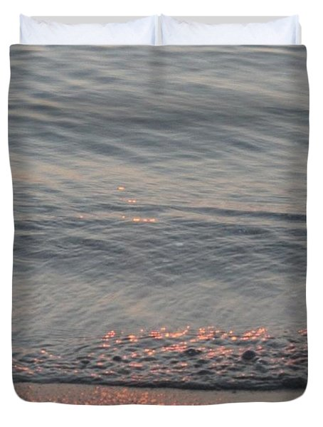 Copper Tide Duvet Cover