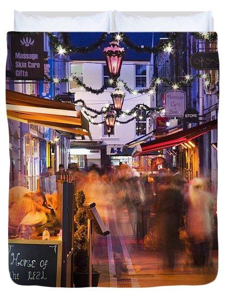 Cork, County Cork, Ireland A City Duvet Cover by Peter Zoeller