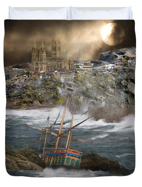 Cornish Wreckers Duvet Cover