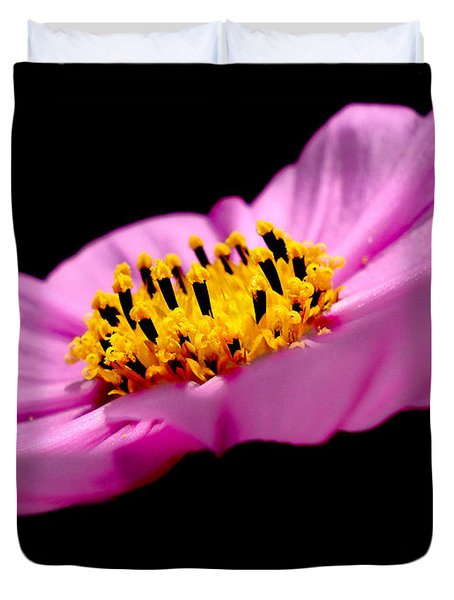 Cosmia Flower Duvet Cover by Sumit Mehndiratta