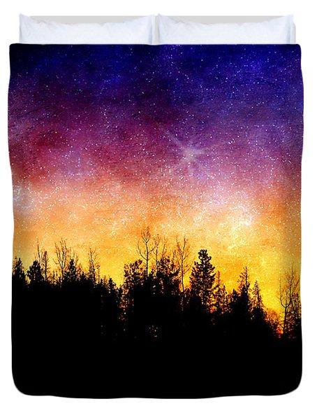 Cosmic Night Duvet Cover
