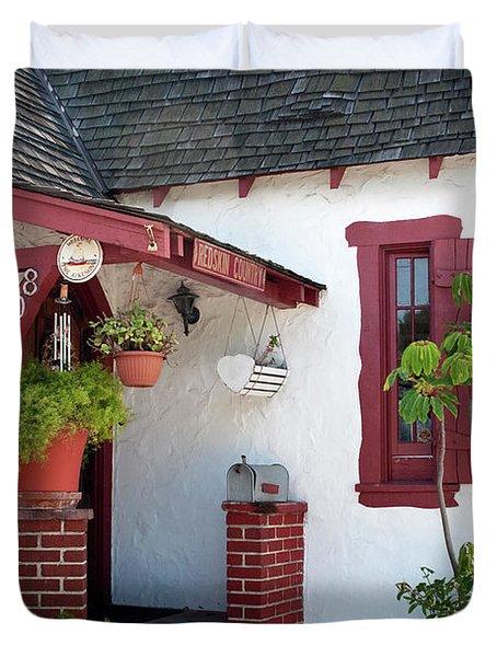 Cottage Charm Duvet Cover by Lorraine Devon Wilke