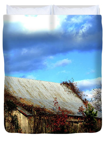 Country Barn Duvet Cover