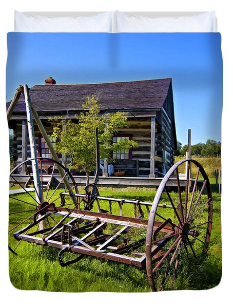 Country Classic Paint Filter Duvet Cover by Steve Harrington