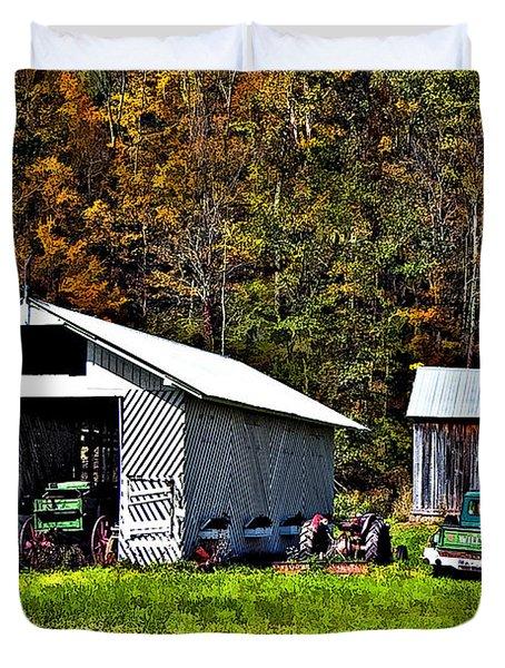 Country Life Duvet Cover by Steve Harrington