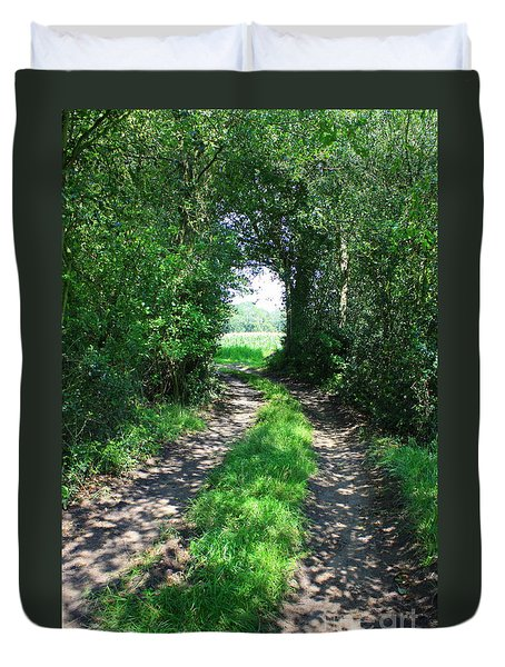 Country Road Duvet Cover by Carol Groenen