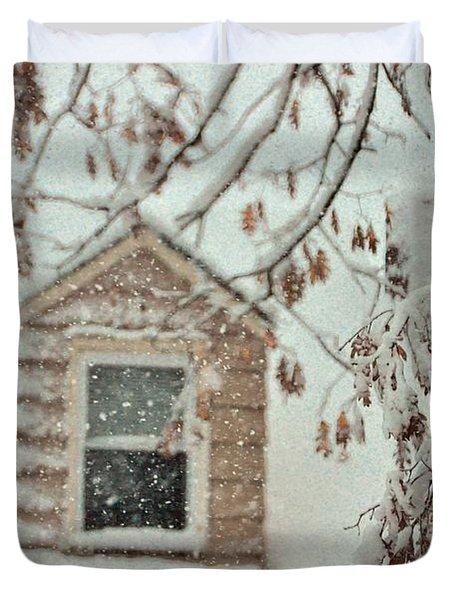 Cozy Cottage Duvet Cover