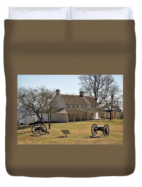 Cravens House Lookout Mountain Duvet Cover