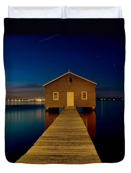 Crawley Boat Shed Duvet Cover