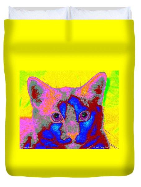 Crayola Cat Duvet Cover