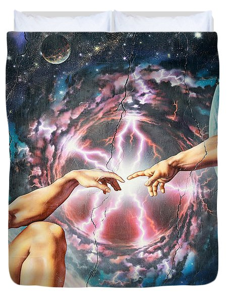 Creation Duvet Cover by Adrian Chesterman