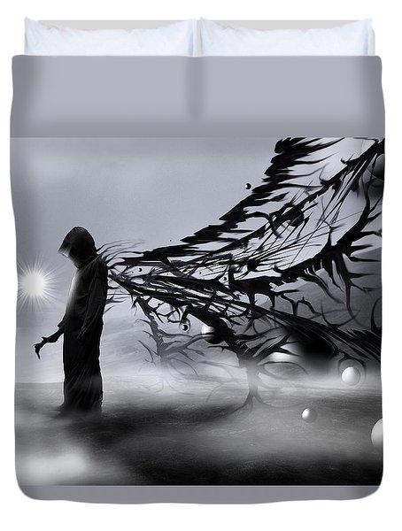 Creator Duvet Cover by Mariusz Zawadzki