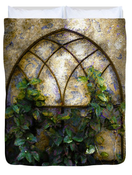 Creeping Vine 1 Duvet Cover