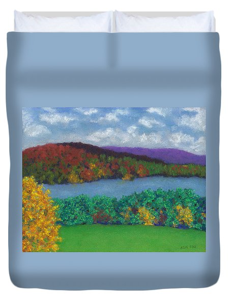 Crisp Kripalu Morning Duvet Cover
