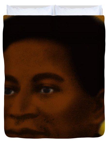 Crispus Attucks, African-american War Duvet Cover by Photo Researchers