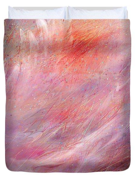Cry Of A Bird Duvet Cover by Rachel Christine Nowicki