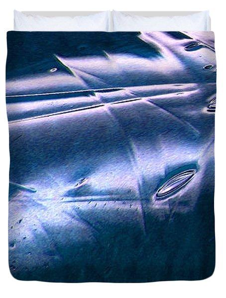 Crystalline Entity Panel 1 Duvet Cover by Peter Piatt