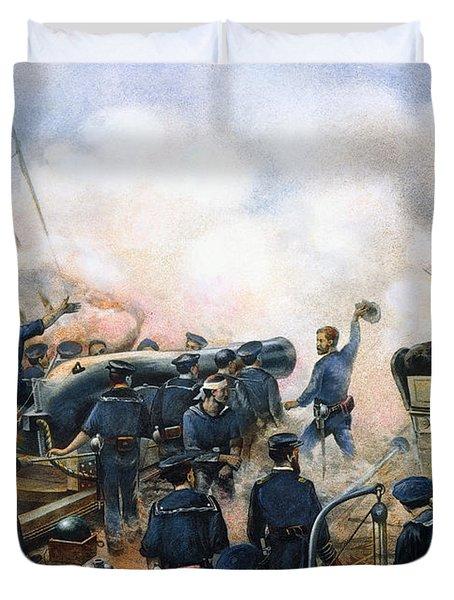 C.s.s. Alabama Sinks, 1864 Duvet Cover