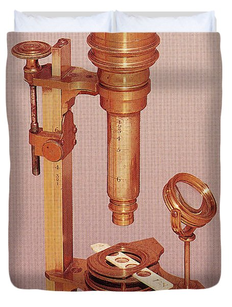 Cuff Compound Microscope Duvet Cover