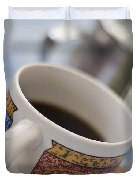 Cup Of Coffee Duvet Cover by David DuChemin