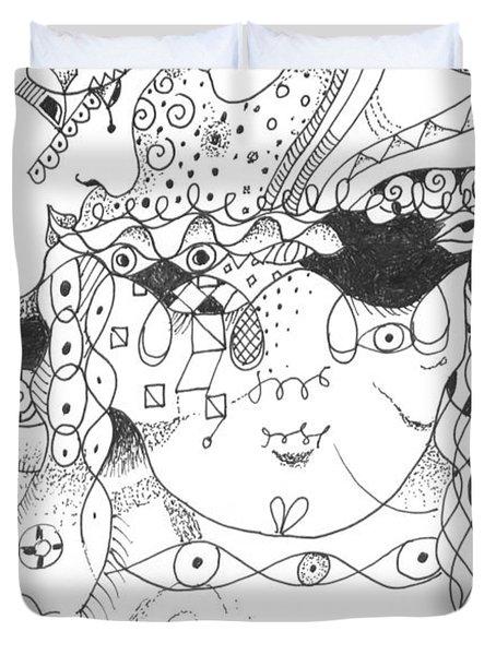 Curiosity Duvet Cover by Helena Tiainen