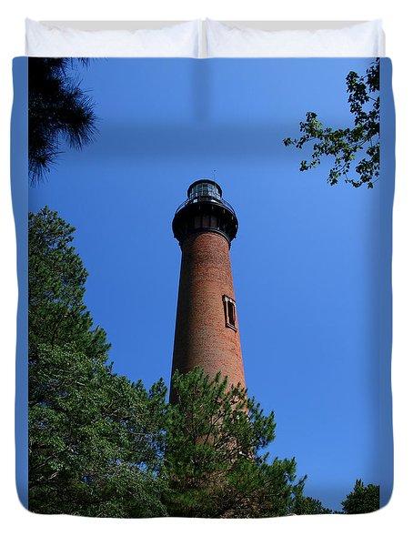 Currituck Lighthouse Duvet Cover