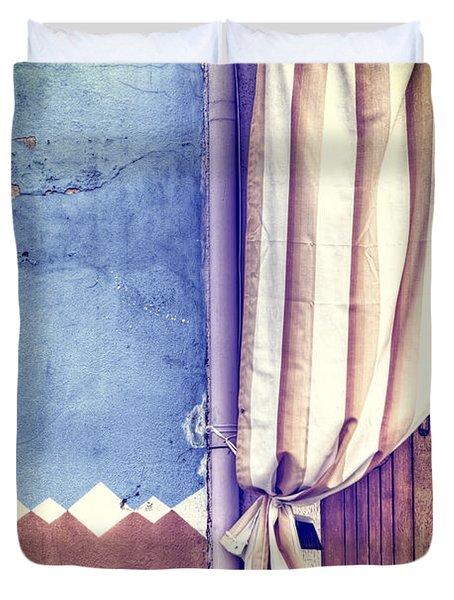 Curtain Duvet Cover by Joana Kruse