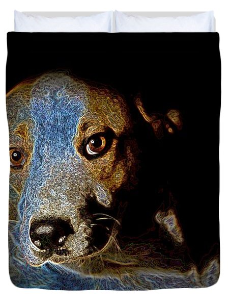 Cutie Duvet Cover by One Rude Dawg Orcutt