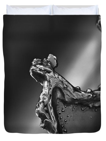 Cutting Edge Sibelius Monument Duvet Cover