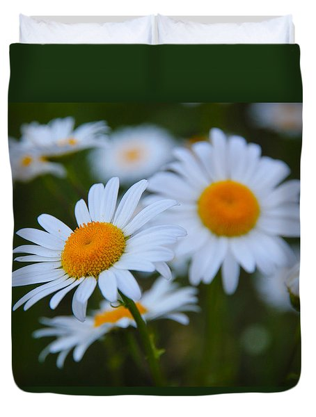 Duvet Cover featuring the photograph Daisy by Athena Mckinzie