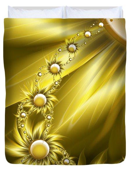 Daisy Sunshine Duvet Cover