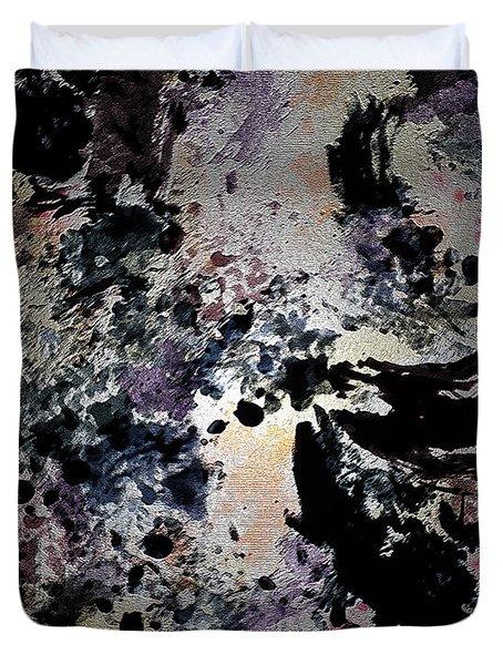 Damask Tapestry Duvet Cover