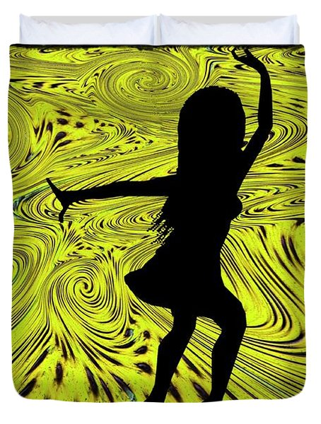 Dance Duvet Cover by Bill Cannon