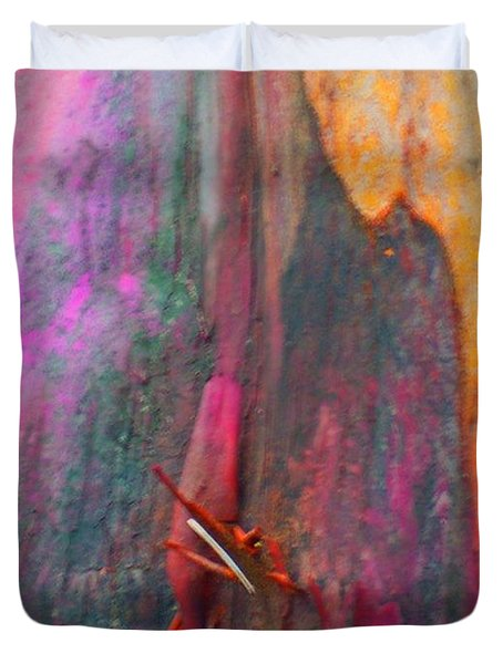 Duvet Cover featuring the digital art Dance For The Earth by Richard Laeton
